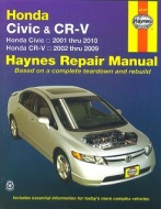 HONDA CR-V , HONDA CIVIC (2001-2010) Haynes