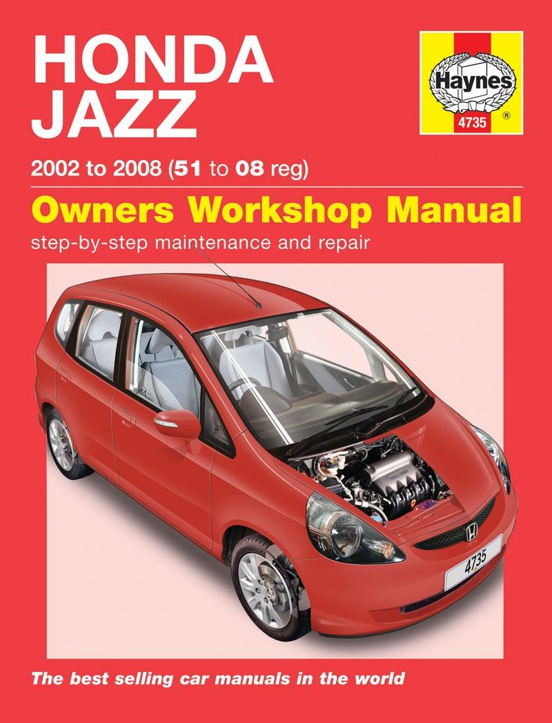 Instrukcja Honda Jazz 2002 2008 Motowiedza
