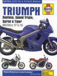 TRIUMPH DAYTONA, SPRINT, SPEED TRIPLE, TIGER (1997-2005) -  Haynes